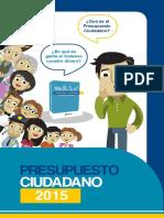 Caricatura Presupuesto Ciudadano2015