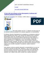 ANTIVIRUS DE MICROSOFT 091010