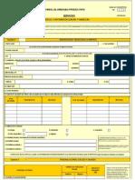Encuesta de Servicios Excel 361