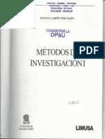 Capitulo I Metodos de Investigacion I