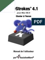 KeyStrokes 4.1 manuel français