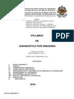 Syllabus - Diagnóstico Por Imágenes 2016