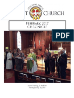 Christ Church February Chronicle 2017