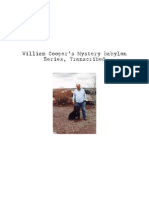 William (Bill) Cooper - Mystery Babylon Series, Transcribed