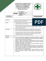 9.1.1.Sop Penyusunan Indikator Klinis