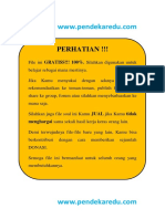 Soal SPA Polines 2015 (Rekayasa)