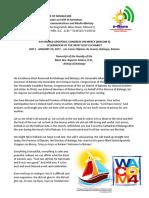 WACOM 4 Transcript of the Homily of the Most Rev. Ruperto Santos, D.D.