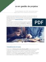 Tendências Em Gestão de Projetos No Brasil