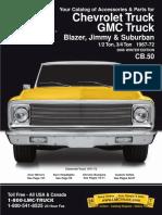 1967-1972 Chevy GMC Truck Parts Catalog