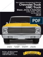 1967-1972 Chevy GMC Truck Parts Catalog