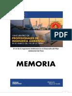 PRIMER ENCUENTRO DE PROFESIONALES EN INGENIERÍA AMBIENTAL EN MARCO DEL DÍA DE LA TIERRA