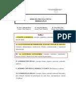 D. Procesal Penal a B C (1)
