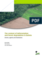 Bolivia's Deforestation Policy - CIFOR Paper 2014