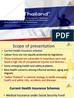Dr Chaiyuth Chavalitnitikul - Safety Thailand