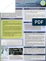 Poster Emergency Anesthesia Management Patient With Sick Sinus Syndrome