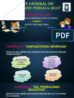 Ley General de Educación Pública 2013