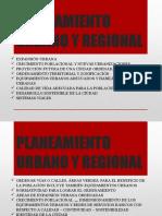 Ppt 1 Planeamiento Urbano y Regional