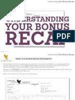 Understanding YOUR Bonus Recap