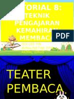 8. Teknik Pengajaran Kemahiran Membaca (Avra