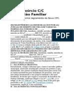 Ação Divórcio CC Usucapiao Familiar