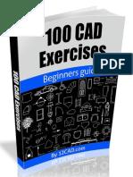 100 ejercicios cad .pdf
