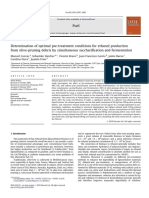 Determination of optimal pre-treatment conditions for ethanol production.pdf