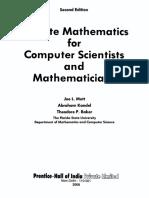 Joe L. Mott, Abraham Kandel, Theodore P. Baker Discrete Mathematics for Comp