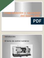 Programación y Operación Del Torno CNC