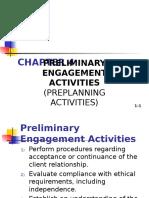 Preliminary Activities