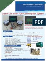 Fuel Consumption Meter | Diesel Flow Sensor