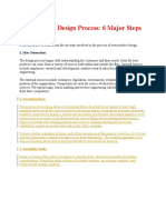 New Product Design Process