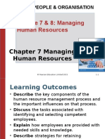 Lecture 7 8 Managing Human Resource (S)