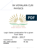 SaiKrishna Physics Project