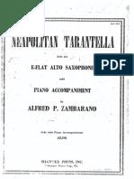 Neapolitan Tarantella Piano