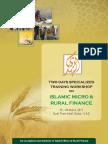 Workshop on Islamic Micro & Rural Finance at Dubai
