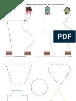 Scissor Skills PreK Packet