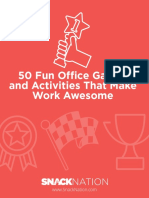 50 Fun Office Games
