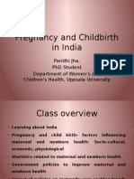 Pregnancy and Childbirth in India