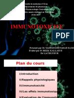 Immunotoxicite
