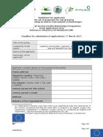 Application Form IPA_CBBEM