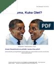 Obama Kuka Olet