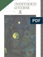The Undivided Universe, An Ontological Interpretation of Quantum pdf