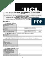 Denys-holland Application Form 2017-18