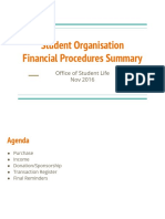 Finance Summary 2016