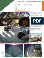 Ammonia Convertor Modifications ENGELS