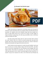 Tips Memulai Usaha Roti Di Rumah