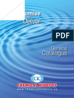 Chemical Kinetic Catalogue