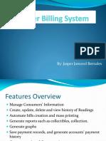 Water Billing System Presentation