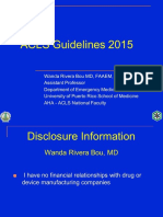Acls Guidelines 2015