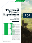 Great Climate Experiment